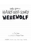 Pdf Notes from a Hairy-Not-Scary Werewolf