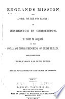 England s mission and appeal for her own people  ed  by clergymen of the Church of England Book