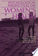 Psychological Perspectives On Women S Health Book PDF
