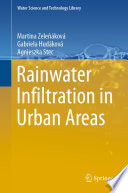 Rainwater Infiltration in Urban Areas Book