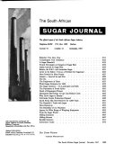 The South African Sugar Journal Book