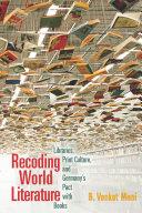 Recoding World Literature Pdf/ePub eBook