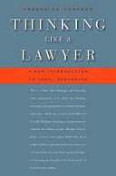 Thinking Like a Lawyer