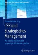 CSR und Strategisches Management