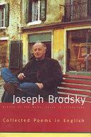 Joseph Brodsky Books, Joseph Brodsky poetry book