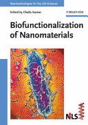 Biofunctionalization of Nanomaterials
