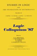 Logic Colloquium  87