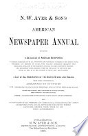 Ayer Directory  Newspapers  Magazines  Trade Publications