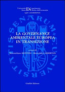 La governance ambientale europea in transizione