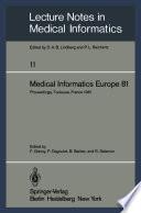 Medical Informatics Europe 81