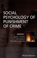 Social Psychology Of Punishment Of Crime Book PDF