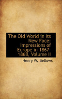 The Old World in Its New Face