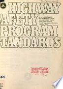 Highway Safety Program Standards