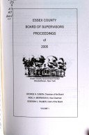 Proceedings of the Board of Supervisors of Essex County
