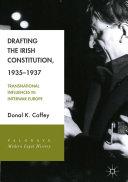 Drafting the Irish Constitution, 1935–1937 Pdf/ePub eBook