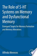 The Role of 5 HT Systems on Memory and Dysfunctional Memory