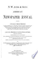 Ayer Directory  Newspapers  Magazines and Trade Publications