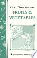 Cold Storage for Fruits   Vegetables