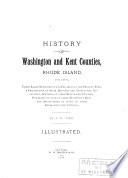 History of Washington and Kent Counties