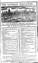 The London Magazine  Or  Gentleman s Monthly Intelligencer