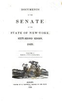 Documents of the Senate of the State of New York ebook