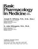 Basic Pharmacology in Medicine Book