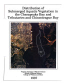 Distribution of Submerged Aquatic Vegetation in the Chesapeake Bay and Tributaries and Chincoteague Bay
