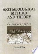 Archaeological Method and Theory Book