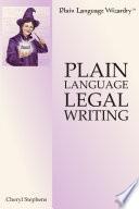 Plain Language Legal Writing