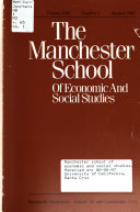 The Manchester School Of Economic And Social Studies