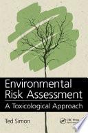 Environmental Risk Assessment Book