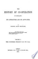 The History Of Co Operation In England