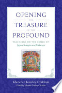 Opening the Treasure of the Profound Pdf/ePub eBook