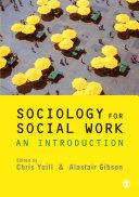 Pdf Sociology for Social Work