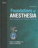 Foundations of Anesthesia