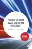 Political Authority Social Control And Public Policy