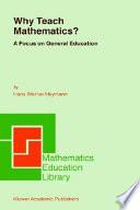 Why Teach Mathematics?