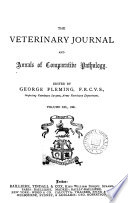 The Veterinary journal  Ed  by G  Fleming Book PDF