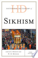 Historical Dictionary Of Sikhism