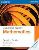 Books - New Cambridge IGCSE Mathematics Revision Guide | ISBN 9781108437264