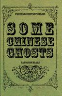 Some Chinese Ghosts Pdf/ePub eBook