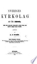Sveriges Kyrkolag af   r 1686  jemte   nnu g  llande stadganden  genom hvilka den blifvit   ndrad eller till  kt  utgifven af A  J  Ryd  n  Tredje   fversedda upplagan  med till  gg af de Ecklesiastika f  reskrifter som tillkommit p   grund af sednaste Riksdag  till b  rjan af   r 1856