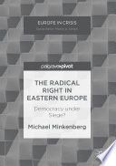 The Radical Right in Eastern Europe Book PDF