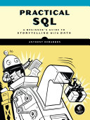 link to Practical SQL : a beginner's guide to storytelling with data in the TCC library catalog