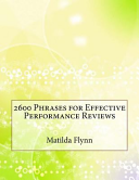 2600 Phrases for Effective Performance Reviews Book