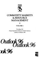 Outlook 96  Commodity markets   resource management
