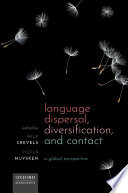 Language Dispersal Diversification And Contact