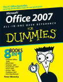 Office 2007 All in One Desk Reference For Dummies