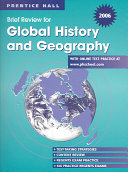 2006 Brief Review In Global History And Geography