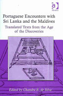 Portuguese Encounters with Sri Lanka and the Maldives